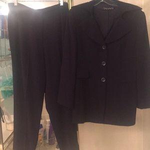 Deep plum TAHARI pantsuit purchased at Nordstrom